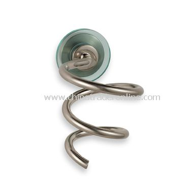 Spiral Holster for Hair Dryers - Nickel
