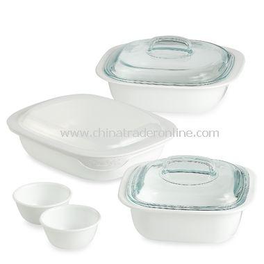 8-Piece Glass Bakeware Set
