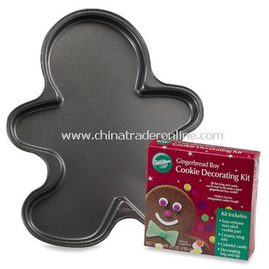 Gingerbread Boy Pan Kit