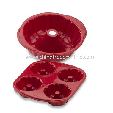 Silicone Non-Stick Fluted Tube Pans