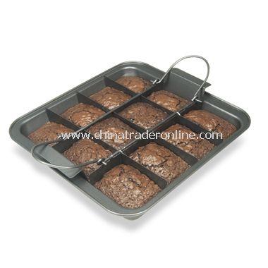 Slice Solutions Brownie Pan
