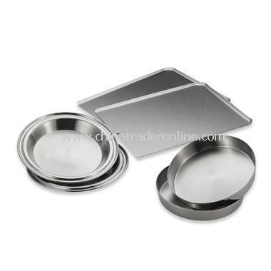 Stainless Steel 6-Piece Bakeware Set