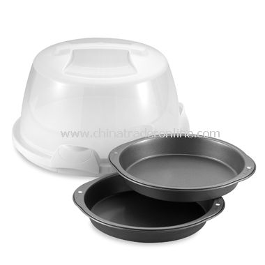 Wilton Cake Caddy and Pan Set