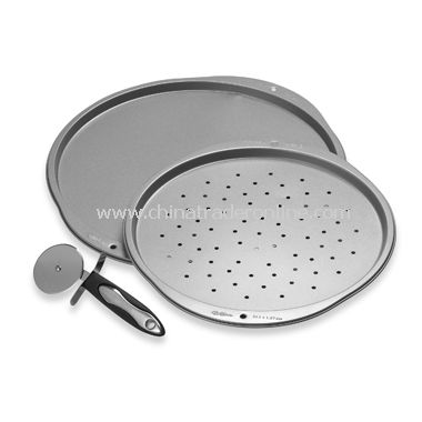 3-Piece Pizza Pan Set