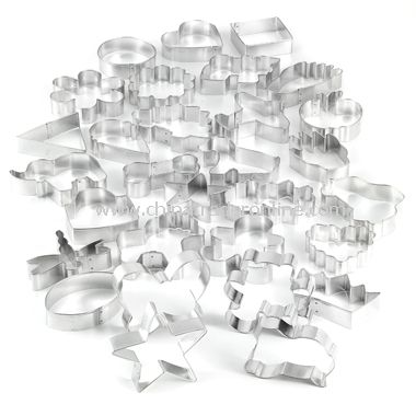30-Piece Cookie Cutter Set