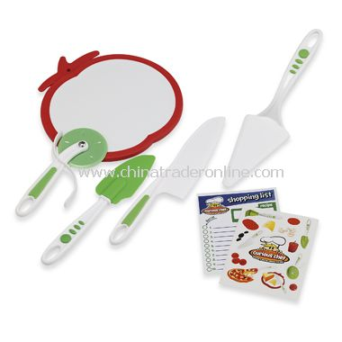 BPA Free 5-Piece Pizza Kit
