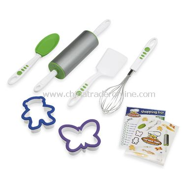BPA Free 6-Piece Cookie Kit