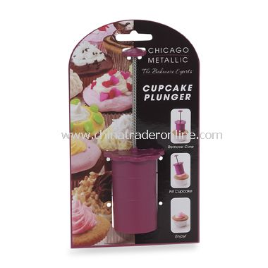 Cupcake Plunger by Chicago Metallic