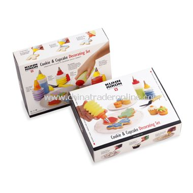 Kuhn Rikon Cookie and Cupcake Decorating Set