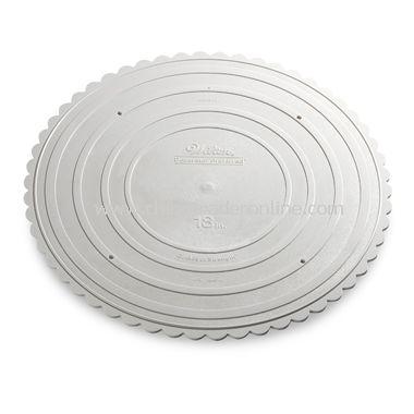 Round Garden Cake Stand Plate