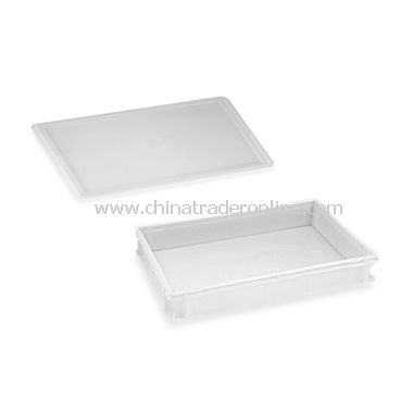 Stackable Dough Container and Lid