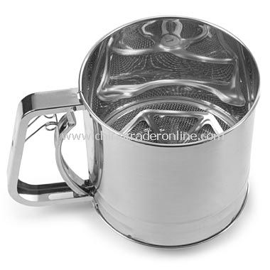 Stainless 5 Cup Sifter from China