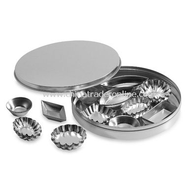 Tin Petit Four Molds (Set of 60)