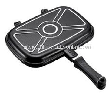 28cm double fry pan