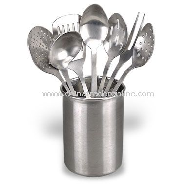 Eight-Piece Kitchen Utensil Set
