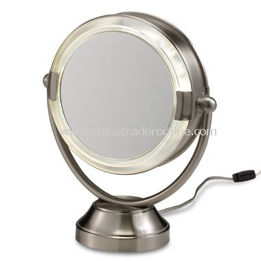 Cheap Makeup Cases on Floxite Fluorescent Lighted Cosmetic 8x 1x Magnification Mirror From