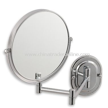 Jerdon 7X/1X Chrome Finished Wall Mount Mirror