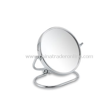 Mini Folding Travel Mirror with 10X/1X Magnification
