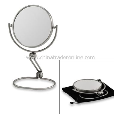 Models Choice 1X/10X Folding Travel Mirror