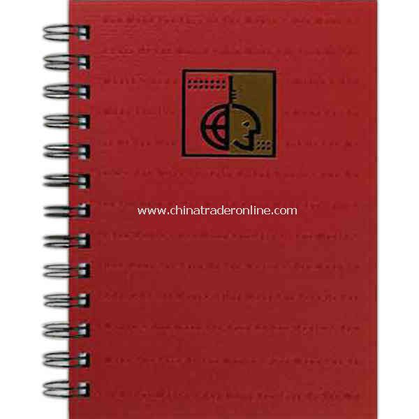 100 sheets - Note pad journal with recycled cover, 5 x 7