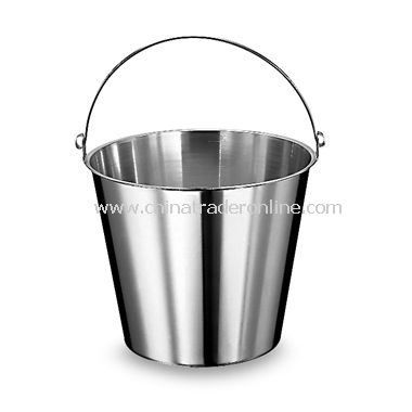12 5/8-Quart Stainless Steel Graduated Bucket
