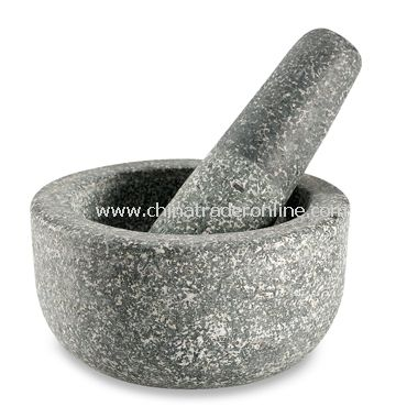 Fresco Granite Mortar & Pestle Bowl