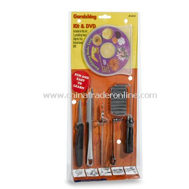 Garnishing 5-Piece Set with Instructional DVD from China