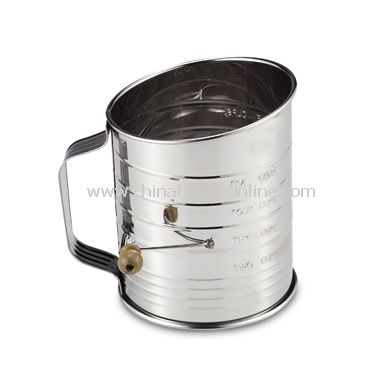 Mrs. Andersons Hand Crank 5-Cup Flour Sifter