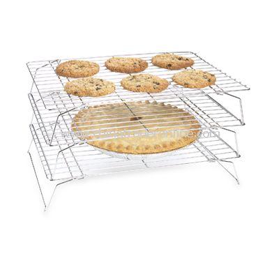Stackable Cooling Racks (Set of 3)