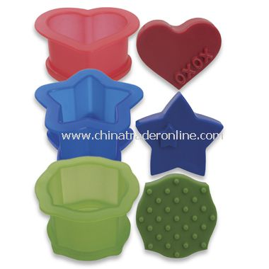 Ice Cream Sandwich Molds (Set of 3) from China