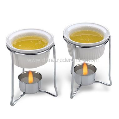 Progressive Butter Warmers (Set Of Two)