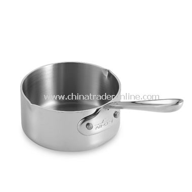 Stainless 1/2-Quart Butter Warmer with Pour Spouts from China