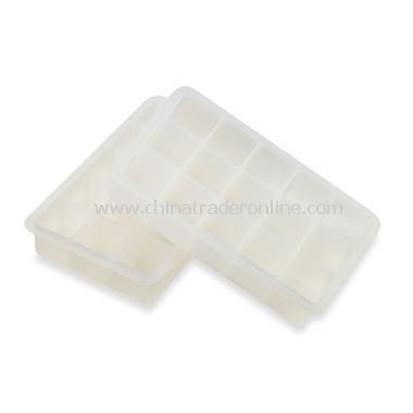 White Silicone Ice Cube Tray