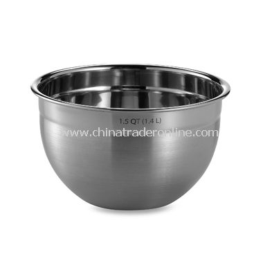 1.5 Quart Stainless Steel Mixing Bowl from China