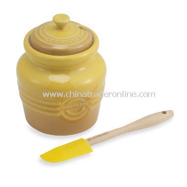 20-Ounce Mustard Jar from China