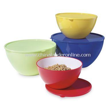 4-Piece Mixing Bowl Set with Lids