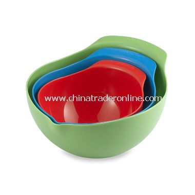 BPA Free Mixing Bowls (Set of 3)