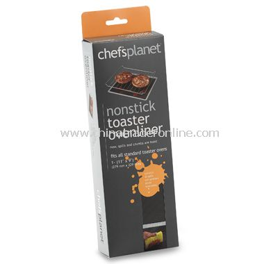 Chefs Planet Non-Stick Toaster Oven Liner
