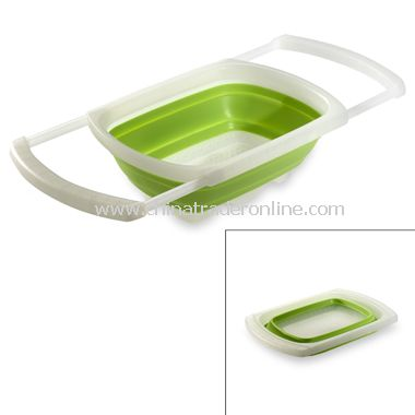 Attractive Collapsible Over The Sink Colander