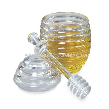 Honey Jar & Dipper from China