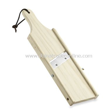 Large Wood Plantain Slicer