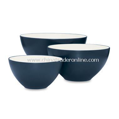 Noritake Colorwave Blue Bowls (Set of 3)