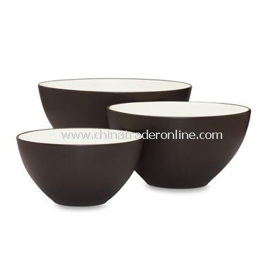 Noritake Colorwave Chocolate Bowls (Set of 3)