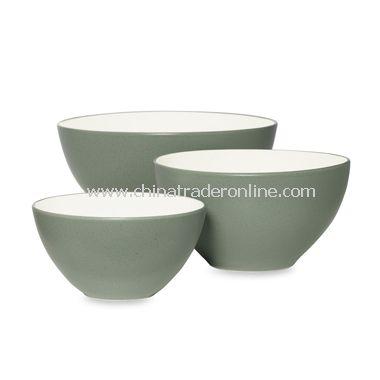Noritake Colorwave Green Bowls (Set of 3)