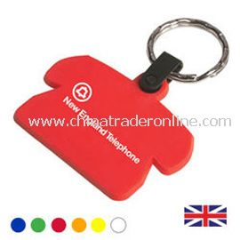 Recycled Phone shaped Key Fob