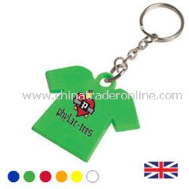 Recycled Tshirt shaped Key Fob