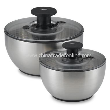 Steel Salad Spinners