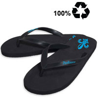 100% Recycled Rubber Flip Flop Sandals