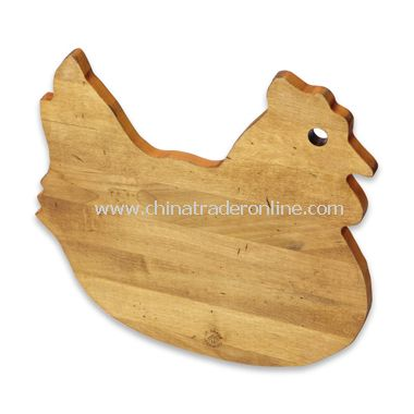 J. K. Adams Novelty Cutting Board - Chicken