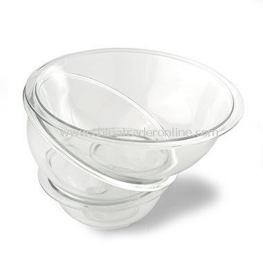 Pyrex 3-Piece Mixing Bowl Set